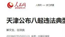 """重拳整治!天津关停2.1万家""""散乱污""""企业,关闭100多家园区!"""